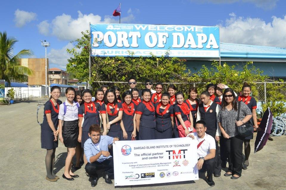 students at dapa port