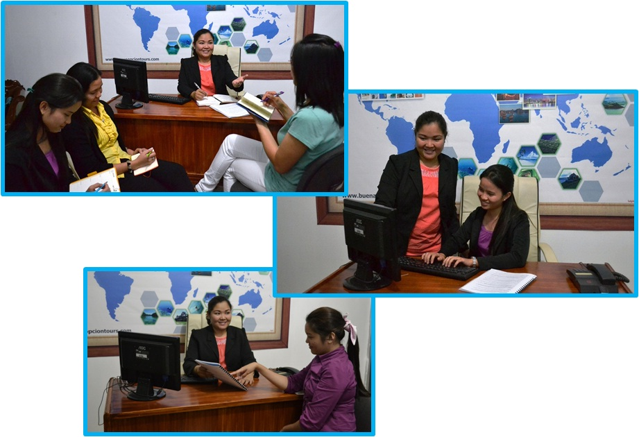 Sales and Marketing director Jane De Jesus conducting in-house trainings for staff