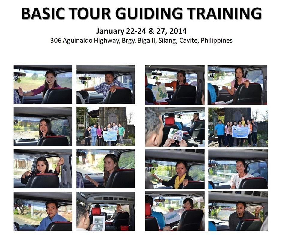 Basic Tour Guiding Training